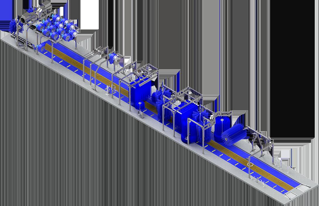 Full - 120' tunnel system