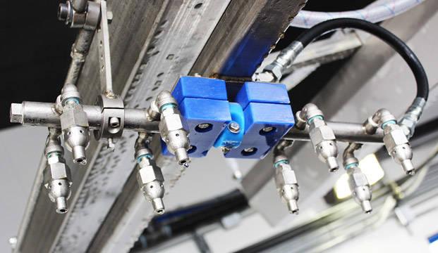 Pivoting Oscillating High Pressure Arch