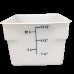 HydroMinder Bucket, White 12 QT