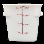 HydroMinder Bucket, White 8 Qt